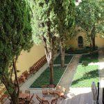 Il giardino della Biblioteca Marucelliana