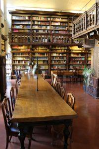 La Sala di consultazione manoscritti e rari