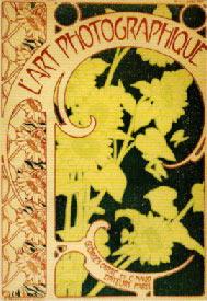 Copertina di Alphonse Mucha per la rivista: L'art Photographique - 1900